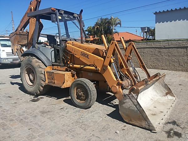 Retro EscavadeiraCASE580L - 14H407