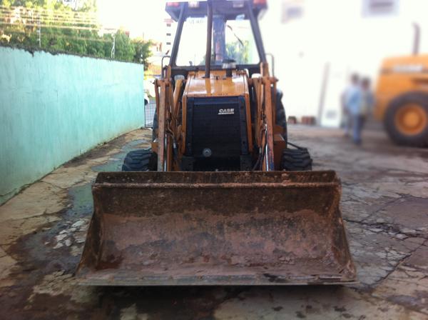 Retro EscavadeiraCASE580L - 14H417