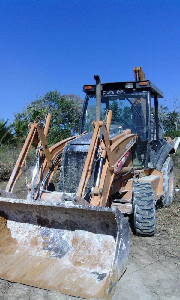 Retro EscavadeiraCASE580M - 14I334