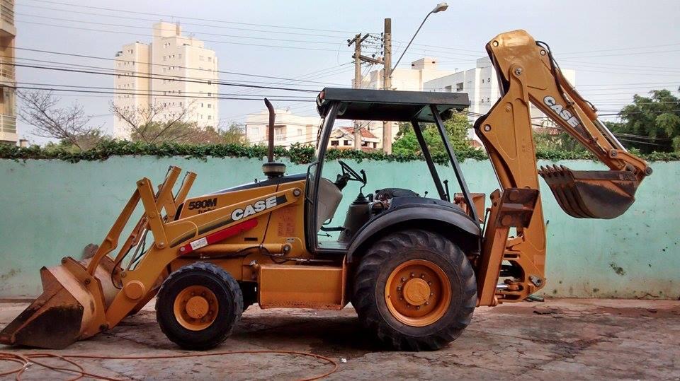 Retro EscavadeiraCASE580M - 14I336