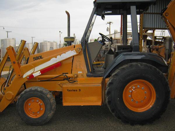 Retro EscavadeiraCASE580L - 14J112