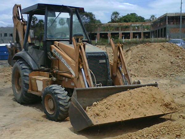 Retro EscavadeiraCASE580L - 14J302