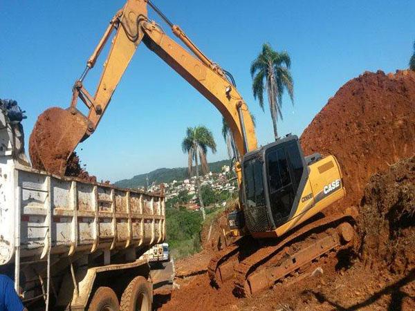 EscavadeiraCASECX160 - 14J334