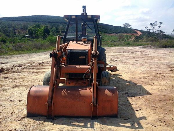 Retro EscavadeiraCASE580L - 14K110