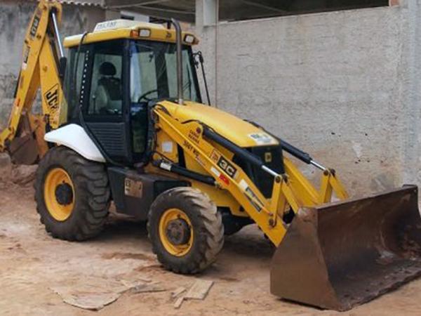 Retro EscavadeiraJCB3C - 14K326