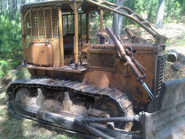 Trator EsteiraKOMATSUD50 - 15C118