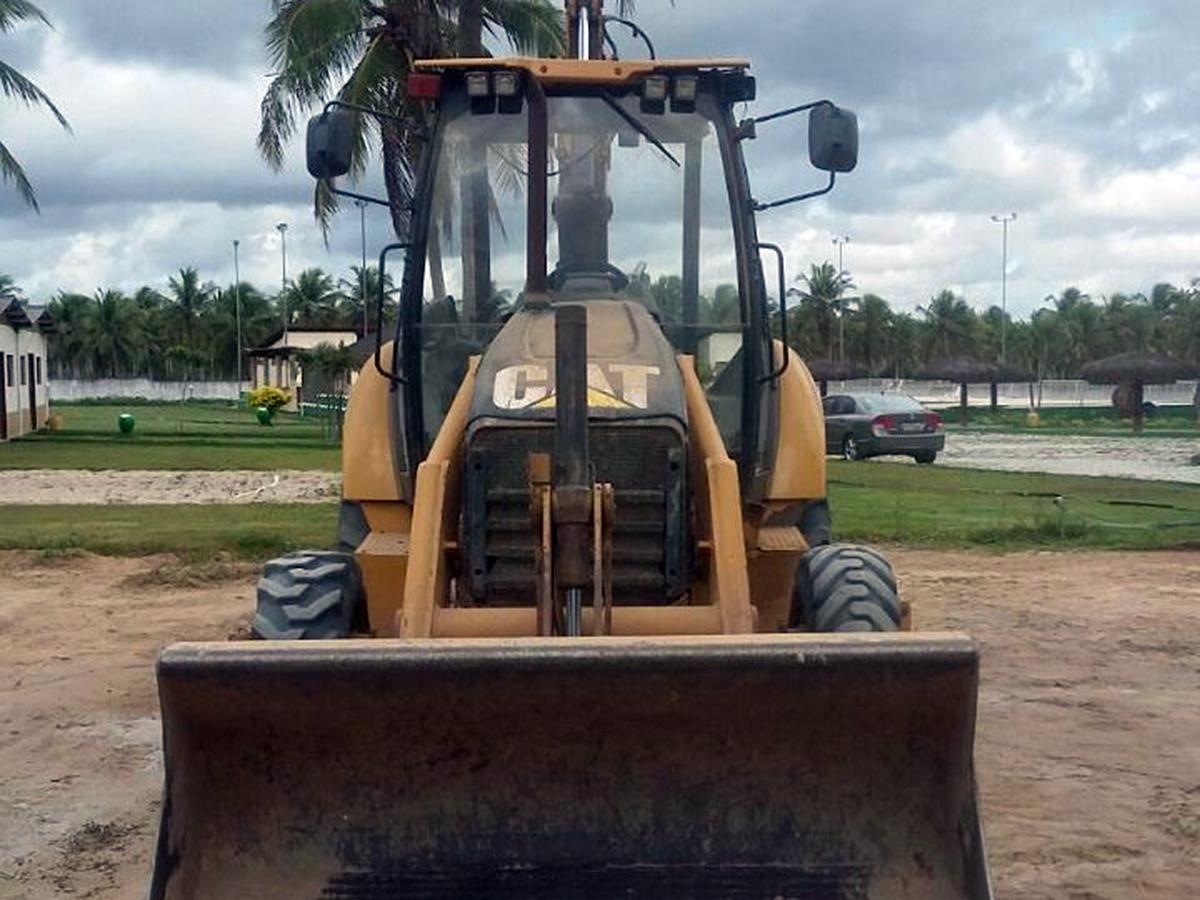 Retro EscavadeiraCATERPILLAR416E - 15F424
