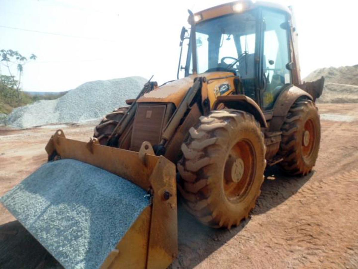 Retro EscavadeiraJCB4CX - 15G409