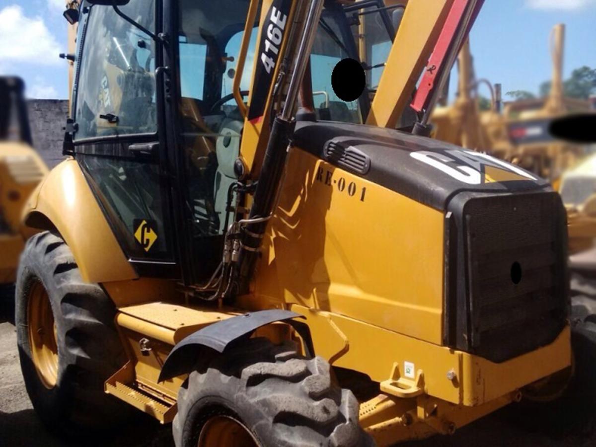 Retro EscavadeiraCATERPILLAR416E - 15G527