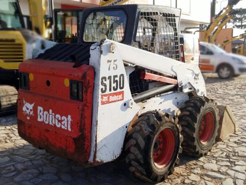 Mini CarregadeiraBOB CATS150 - 15H306