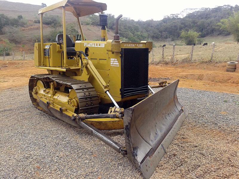 Trator EsteiraFIAT7D - 15H443