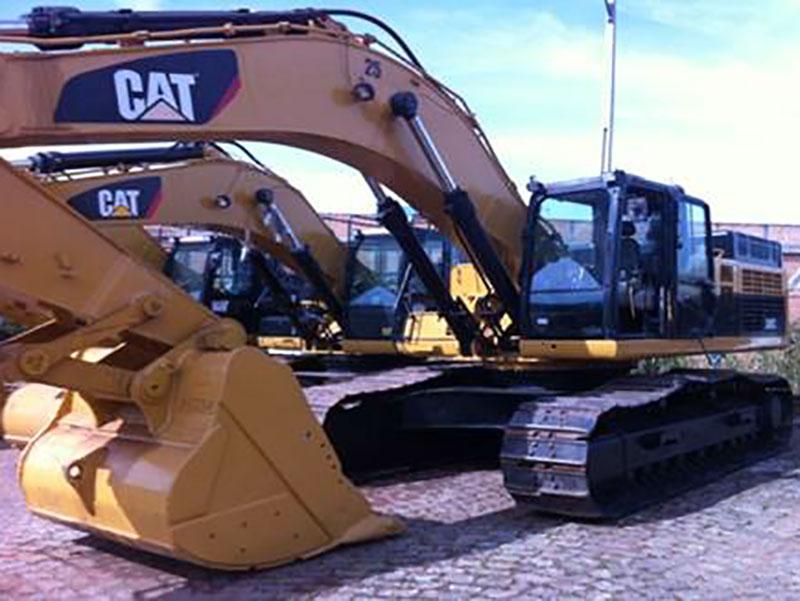 EscavadeiraCATERPILLAR345C - 15H445