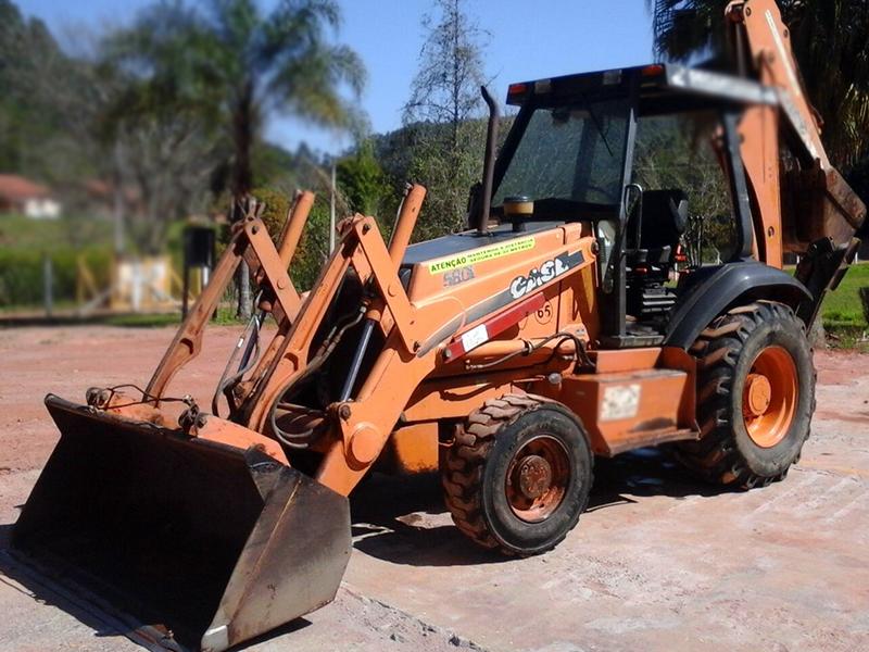 Retro EscavadeiraCASE580L - 15I333