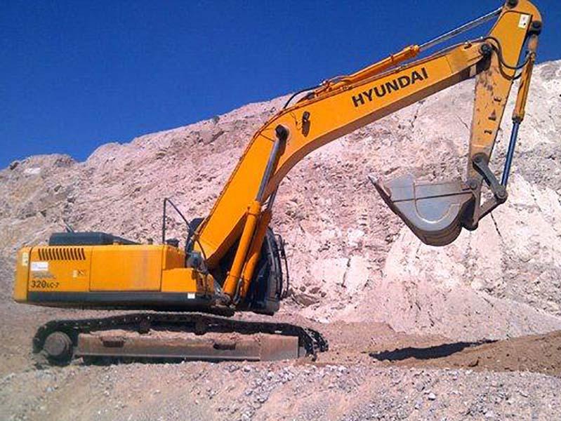 EscavadeiraHYUNDAIR320 - 15K325