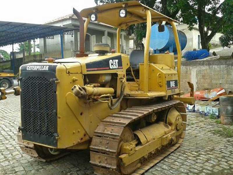Trator EsteiraCATERPILLARD4EDD - 16A136