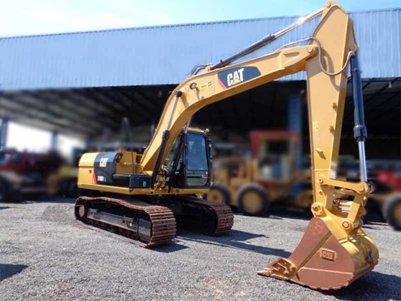 EscavadeiraCATERPILLAR318D2L - 16B205