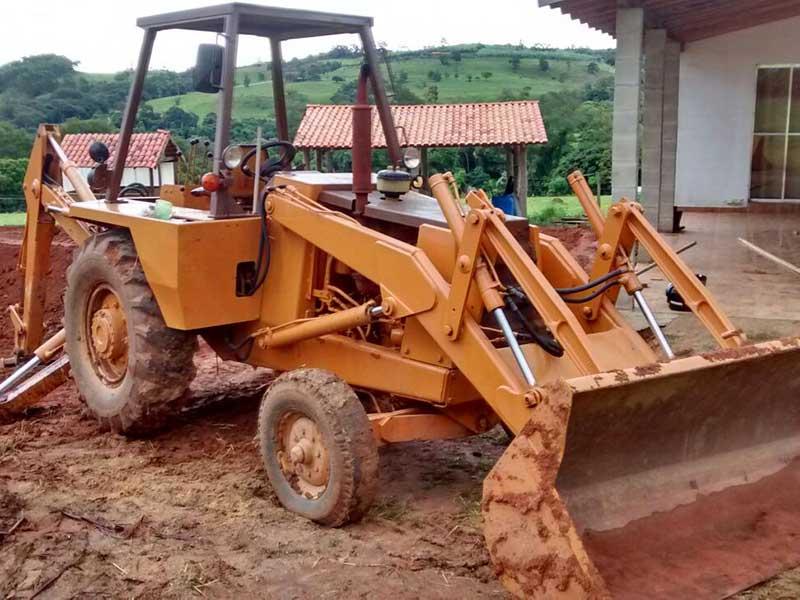 Retro EscavadeiraCASE580H - 16C219