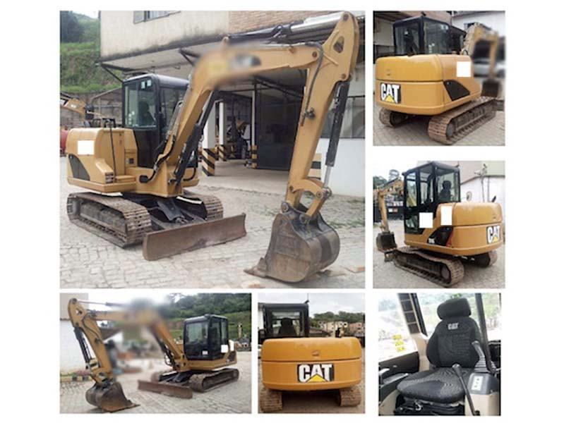 Escavadeira CATERPILLAR 306 - 16C323