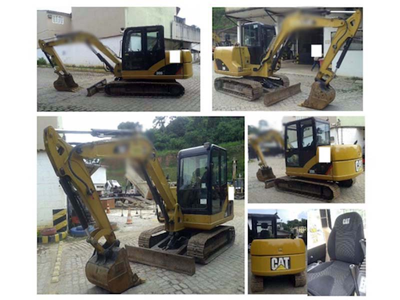 Escavadeira CATERPILLAR 306 - 16C324