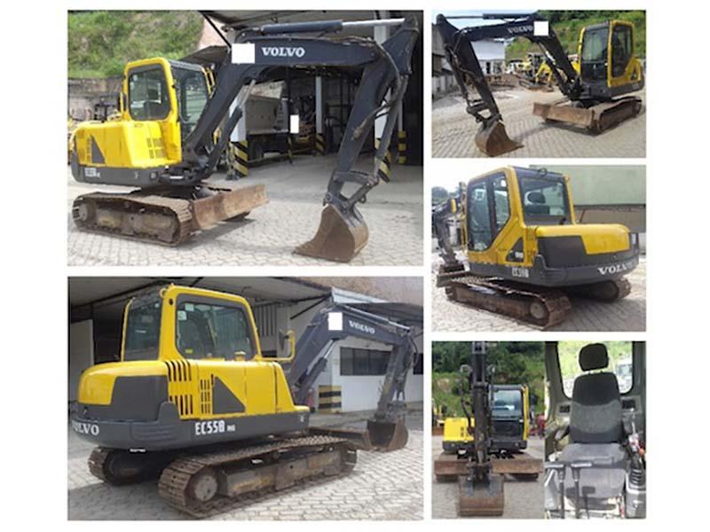 Mini EscavadeiraVOLVOEC55 - 16C325