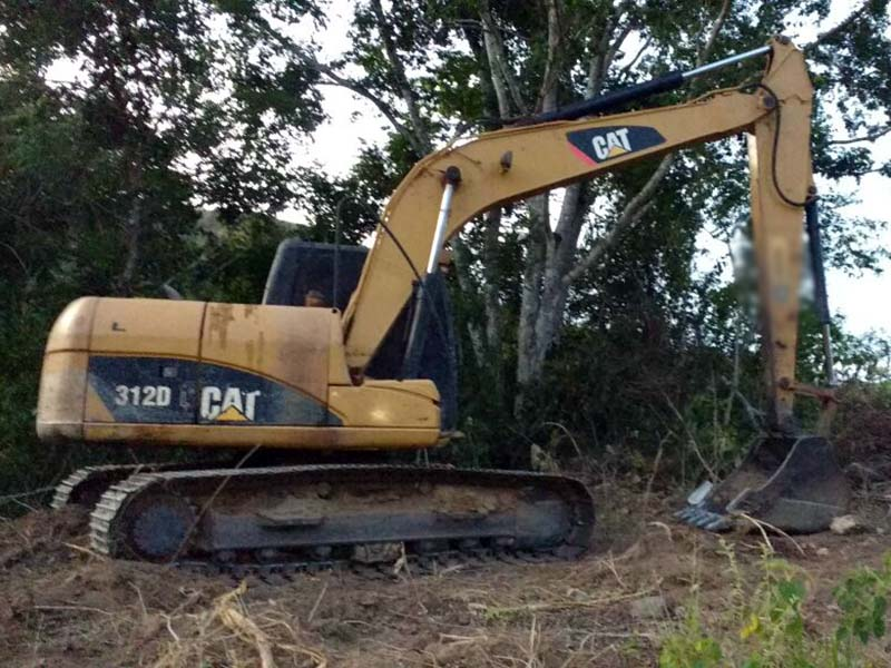 EscavadeiraCATERPILLAR312D - 16C518
