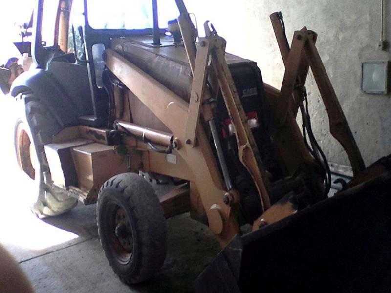 Retro EscavadeiraCASE580L - 16D102
