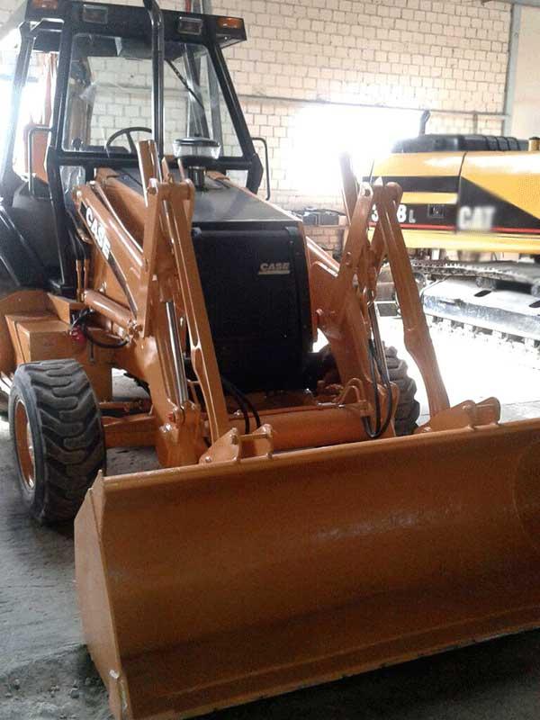 Retro EscavadeiraCASE580L - 16D318