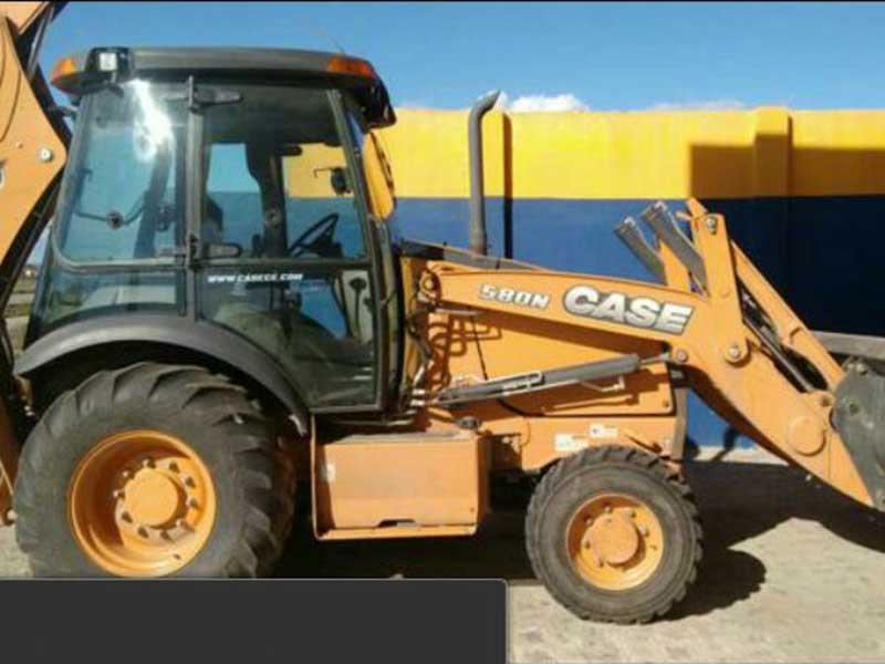 Retro EscavadeiraCASE580N - 16D504
