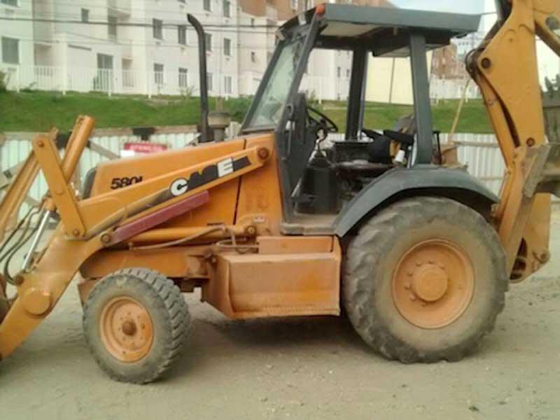 Retro EscavadeiraCASE580L - 16E217