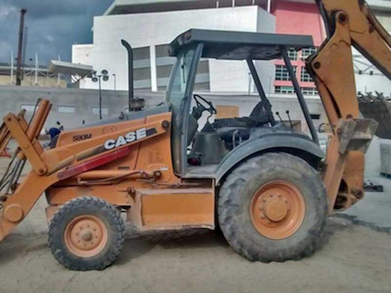 Retro EscavadeiraCASE580M - 16E218