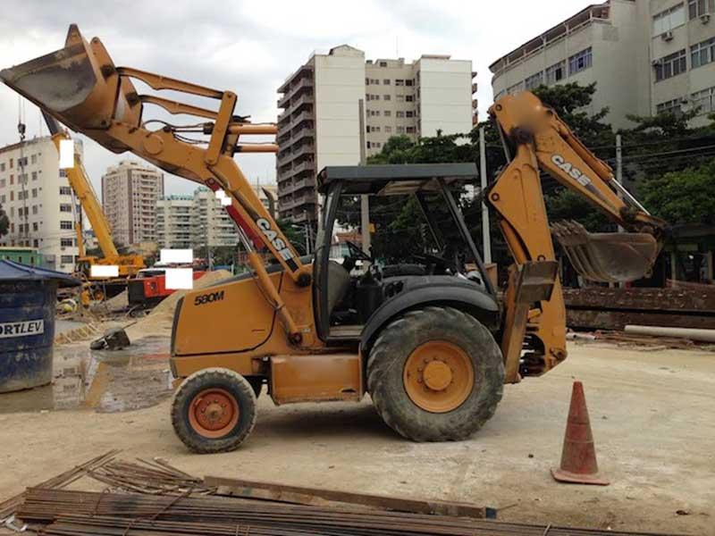 Retro EscavadeiraCASE580M - 16E219