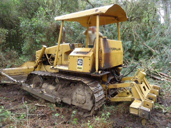 Trator EsteiraCATERPILLARD4EDD - 16F326