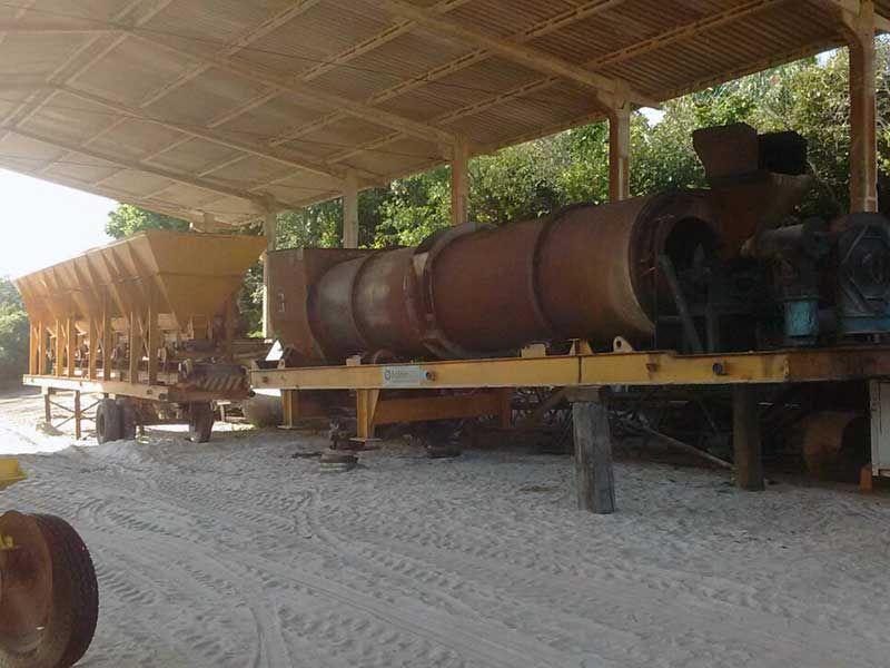 Usina AsfaltoFAÇODM 522B - 16G314