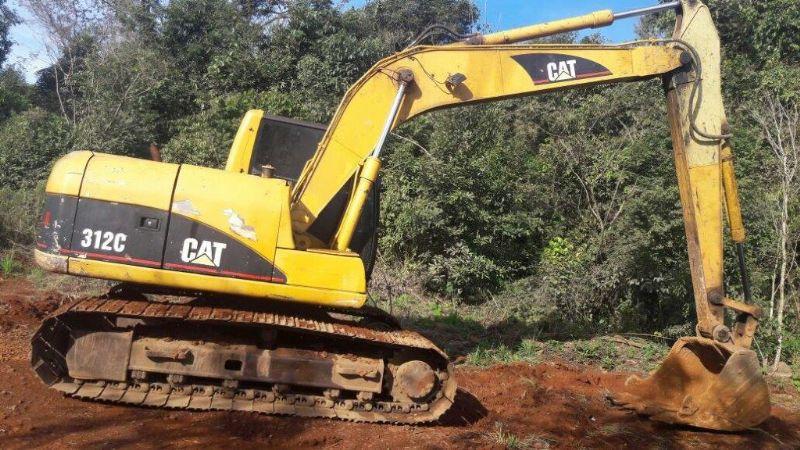 EscavadeiraCATERPILLAR312C - 16H310
