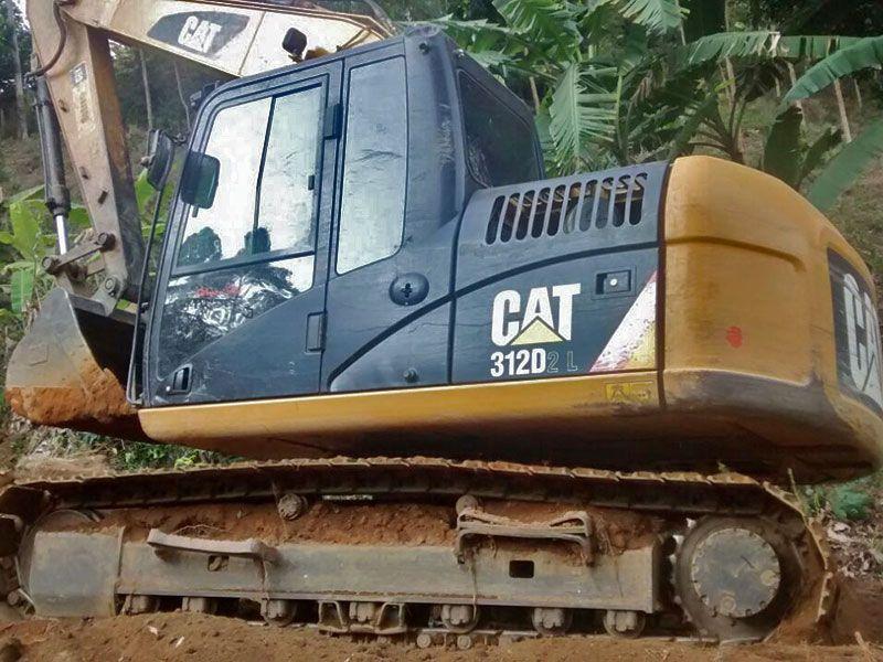 EscavadeiraCATERPILLAR312D - 16I501