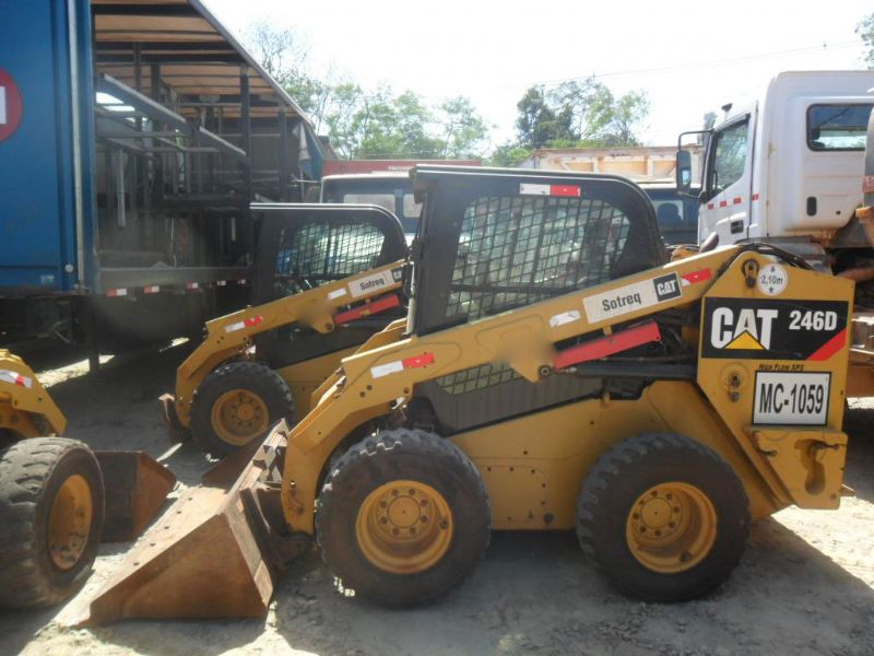 Mini Carregadeira CATERPILLAR 246D - 16K113