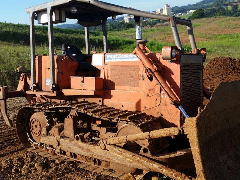 Trator EsteiraFIATFD9 - 16K426
