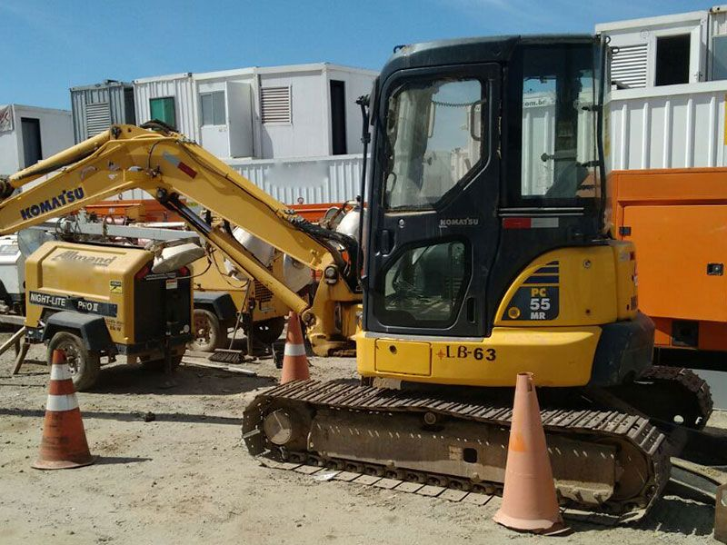 Mini EscavadeiraKOMATSUPC55 - 16L519