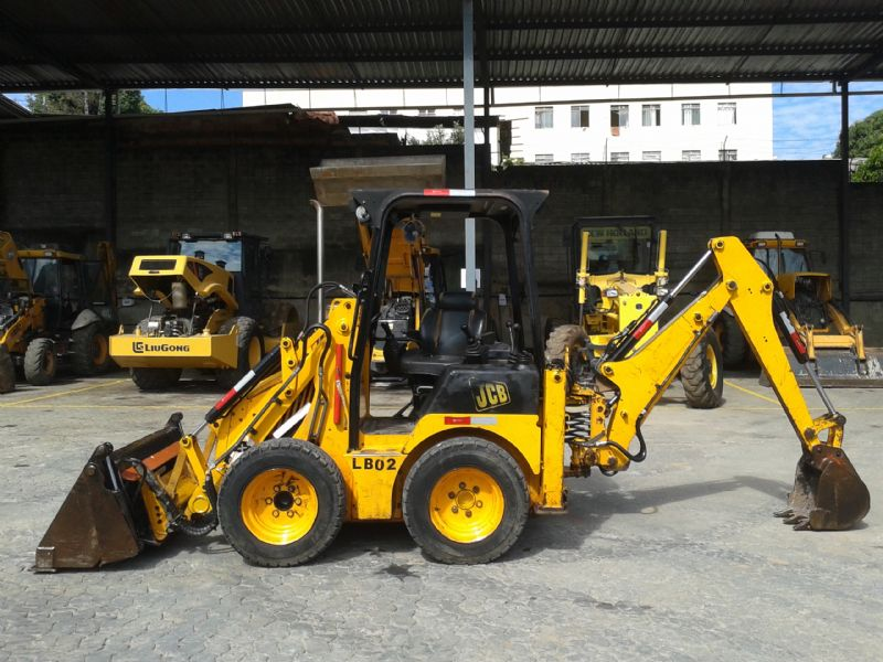 Mini Retro Escavadeira JCB 1CX - 16L521