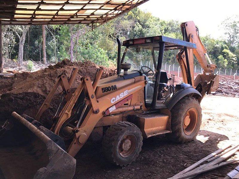 Retro EscavadeiraCASE580M - 17C502