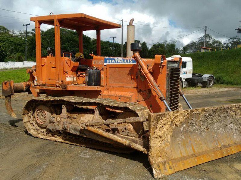 Trator EsteiraFIATFD9 - 17D130