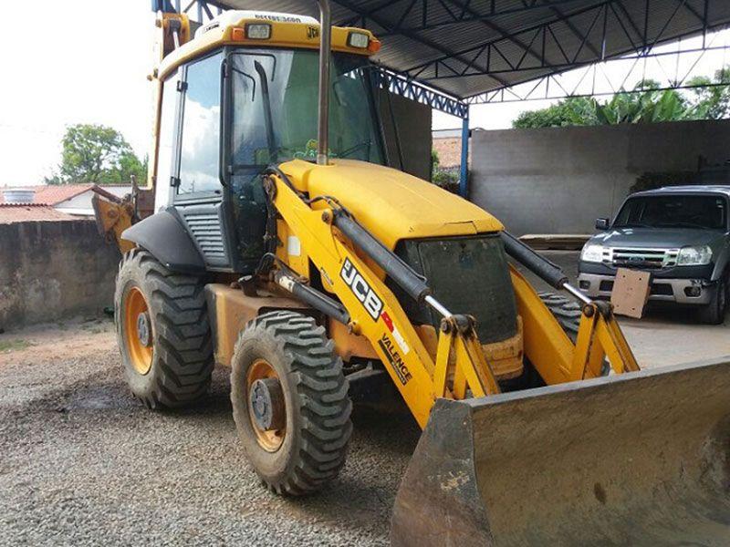 Retro EscavadeiraJCB3C - 17E102