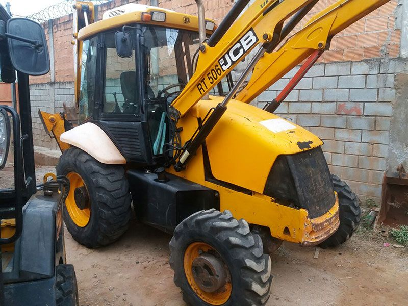 Retro EscavadeiraJCB3C - 17E413