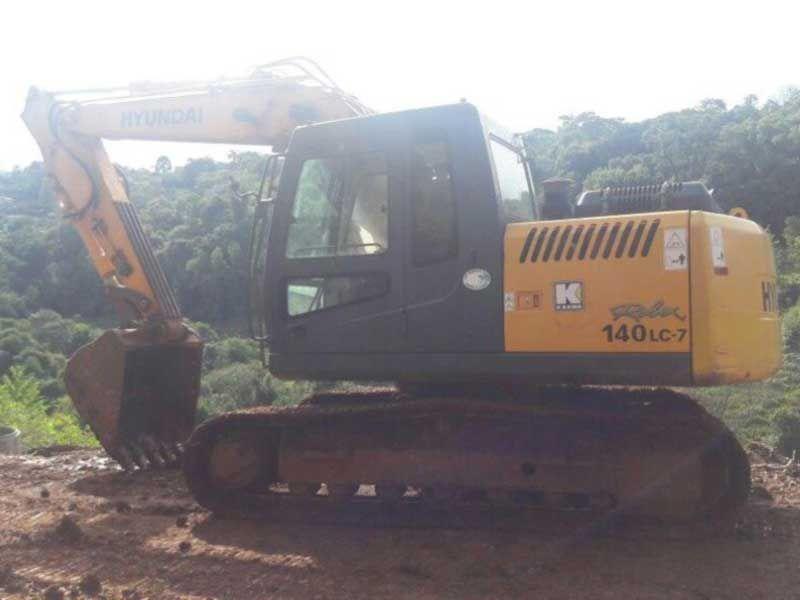 EscavadeiraHYUNDAIR140 - 17E501
