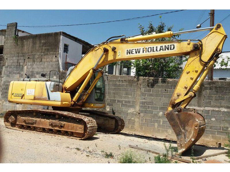 EscavadeiraNEW HOLLANDE215 - 17J112