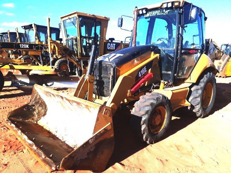 Retro EscavadeiraCATERPILLAR416E - 17K210