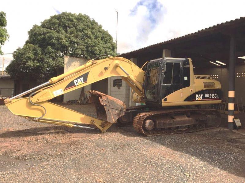 EscavadeiraCATERPILLAR315C - 17K307