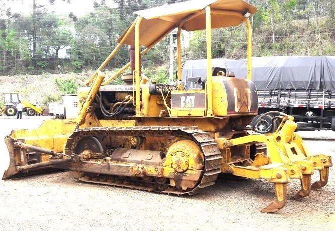 Trator EsteiraCATERPILLARD4DDD - 17K408