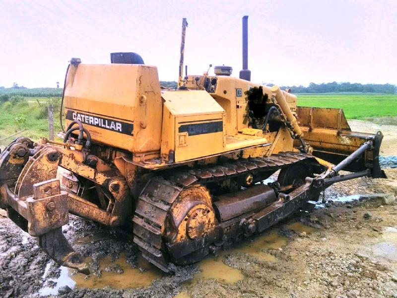 Trator EsteiraCATERPILLARD4EDD - 17K413