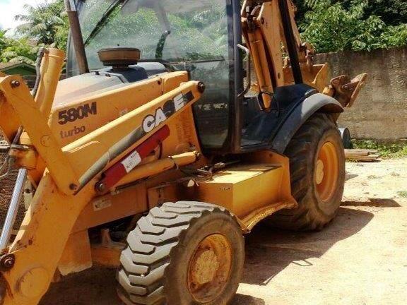 Retro EscavadeiraCASE580M  - 17L119